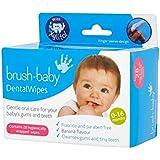 ブラシ赤ちゃん歯科ワイプ (Brush-Baby) - Brush Baby Dental wipes [並行輸入品]