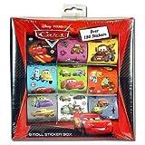Disney Cars 9 Roll Sticker Box Over 150 Stickers おもちゃ [並行輸入品]