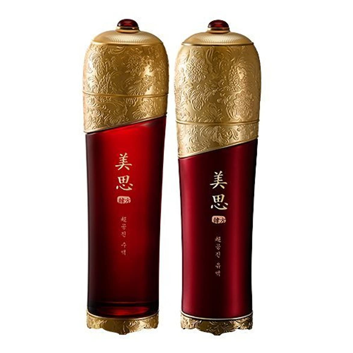 余計なパフMISSHA(ミシャ) 美思 韓方 チョゴンジン 基礎化粧品 スキンケア 化粧水+乳液=お得2種Set
