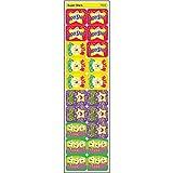 Trend Enterprises トレンド Applause Stickers Super Stars 【教材 ごほうびシール】 スターご褒美シール (ステッカー100枚入り) T-47113