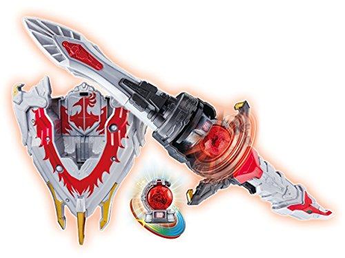 宇宙戦隊キュウレンジャー 変身回転剣 DXホウオウブレード&ホウオウシールド