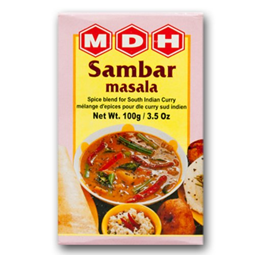 MDH サンバルマサラ 100g 3箱 Sambar Masala スパイス ハーブ 香辛料 調味料 ミックススパイス 業務用