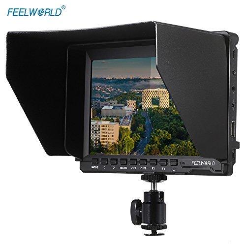 Feelworld FW74K ビデオカメラ 7'' HD ...