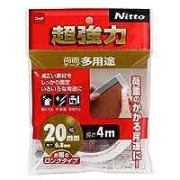 ニトムズ 超強力両面テープ 多用途 20mm×4M T4543