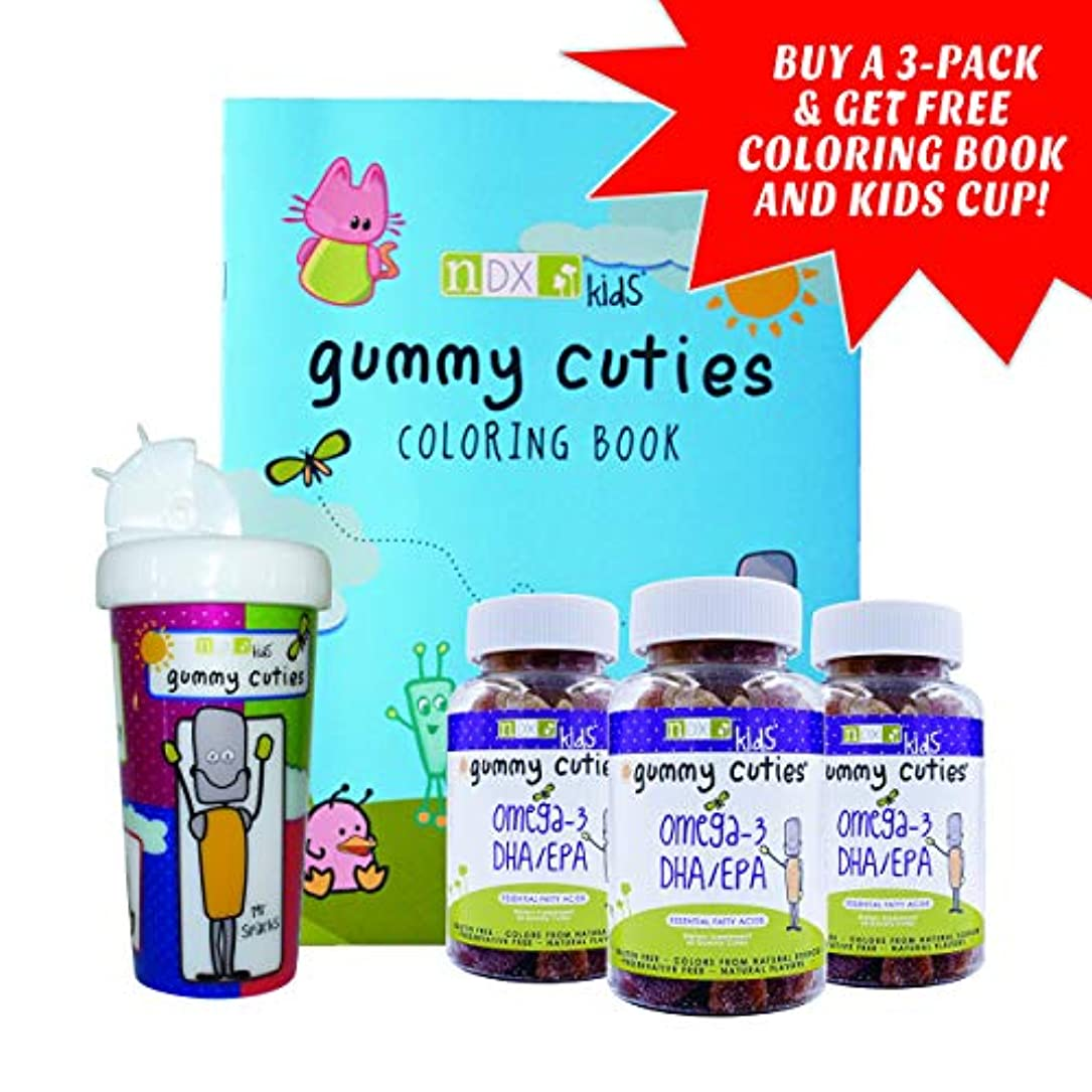 滅びるエンドテーブルヶ月目Gummy Kids DHA/EPA 60 CT by Natural Dynamix