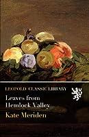 Leaves from Hemlock Valley