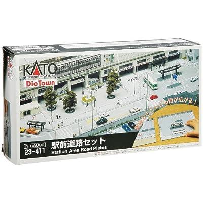 KATO Nゲージ 駅前道路セット 23-411 鉄道模型用品