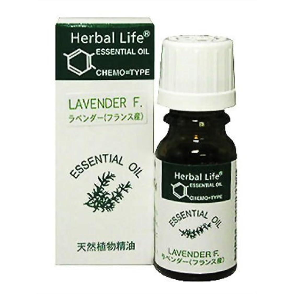 パンチ慣れている感度Herbal Life ラベンダー 10ml