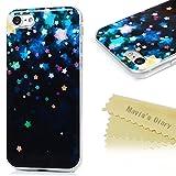 iphone7 ケース Mavis's Diary カバー クリア 超薄型 耐衝撃 保護キャップ スマホケース TPUケース 星