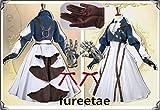 実物撮影豪華修正版ヴァイオレット・エヴァーガーデン風 ヴァイオレット・エヴァーガーデン コスプレ衣装+靴下+髪飾り +手甲*道具