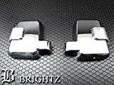 BRIGHTZ プラド 70 LEDメッキドアミラーカバー 交換タイプ 【 MIR-991-KOU 】 HZJ74K HZJ74V HZJ76K HZJ77HV HZJ77V HZJ J74 J76 J77 74 76 77 ランドクルーザープラド ランドクルーザー ランクル19114