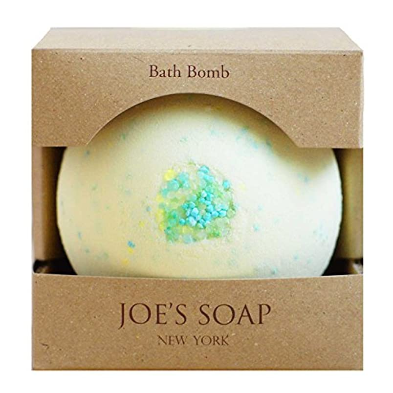 すみませんであることかんがいJOE'S SOAP ( ジョーズソープ ) バスボム(LEMON TEA) バスボール 入浴剤 保湿 ボディケア スキンケア オリーブオイル はちみつ フト プレゼント