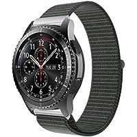 inverlee高級ナイロン時計ブレスレット手首バンドストラップfor Samsung Gear s3 Frontier