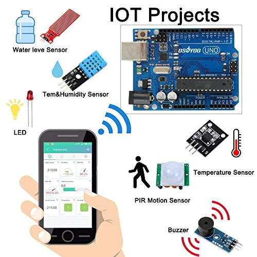 OSOYOO Arduino IoT スターター キット 物体に通信機能を持たせ