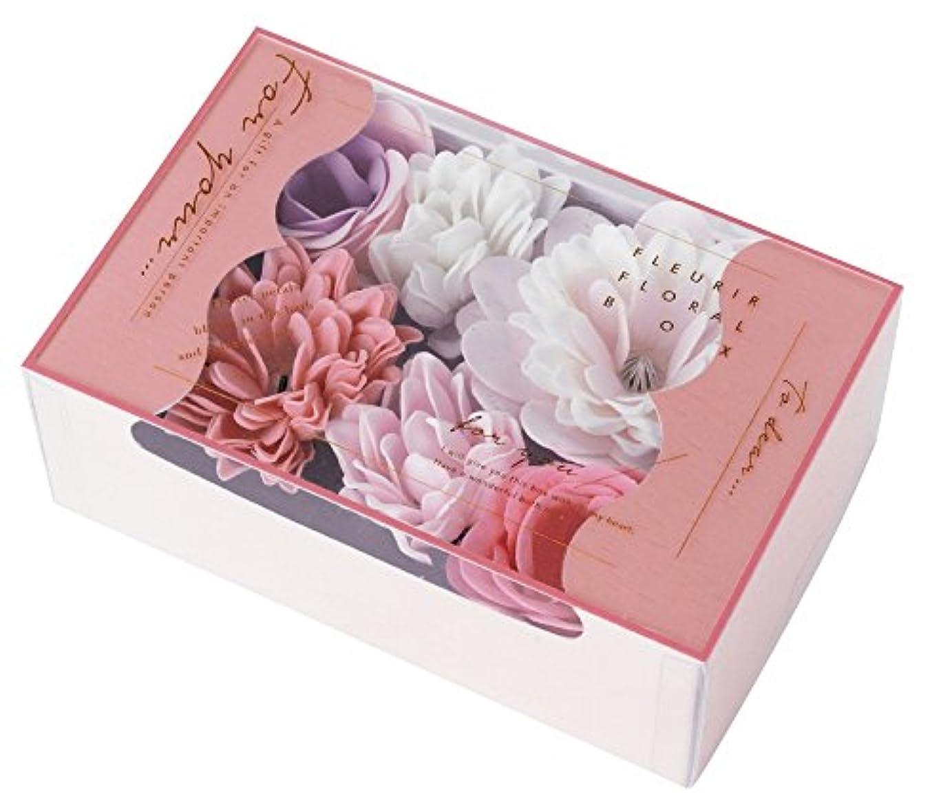 著作権不屈常習的ノルコーポレーション 入浴剤 バスペタル フルリールフローラルボックス 22g フローラルの香り OB-FFL-1-1