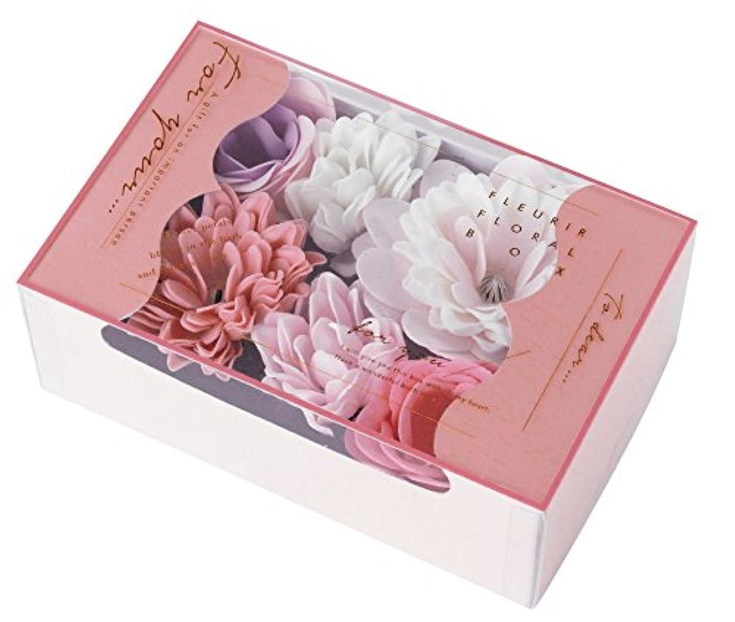 ローズ切り刻むクーポンノルコーポレーション 入浴剤 バスペタル フルリールフローラルボックス 22g フローラルの香り OB-FFL-1-1