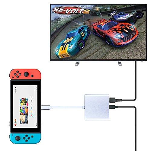 持ち運びに便利なNintendo Switch用ドック Nintendo S...