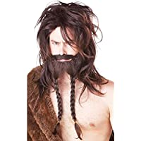Viking Wig Brown バイキングウィッグブラウン♪ハロウィン♪クリスマス♪One-Size