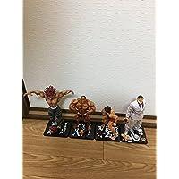 グラップラー刃牙 フィギュア 4体 セット (フィギュアーツZERO 範馬 刃牙 範馬 勇次郎 花山 薫 ビスケット?オリバ)