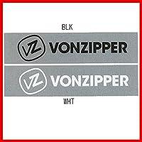 VonZipper(ボンジッパー) カッティング ロゴマーク ステッカー CUTTING LOGO MARK STICKER WHT