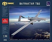 タンモデル 1/24 トルコ軍 無人偵察機 ベイラクター TB2