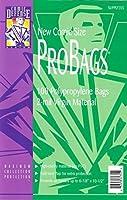 "Comic Defense System New Comic Book ProBags Polypropylene Bags 6-7/8"" x 10 1/2"" Plus 1 1/2"" Flap by Comic Defense System [並行輸入品]"