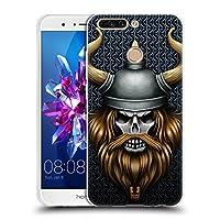 Head Case Designs バイキング スカル・ウォリアーズ ソフトジェルケース Huawei Honor 8 Pro