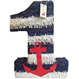Large Nautical Number One Pinata 23