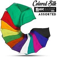 [マジック メーカー]Magic Makers 9 Inch Colored Silks Professional Grade LYSB002BGBPXW-TOYS [並行輸入品]