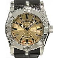 ロジェ・デュブイ ROGER DUBUIS イージーダイバー 世界888本限定 SE4657 9 1253 シャンパン文字盤 メンズ 腕時計 【中古】