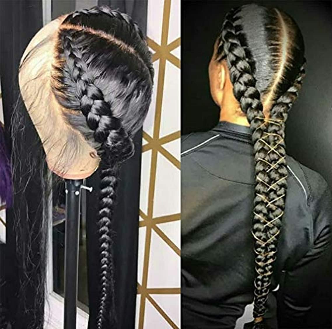 深める晩餐マリン女性かつらストレートヘアレース前頭ブラジルバージン人間の髪の毛のかつら人間の髪の毛150%密度