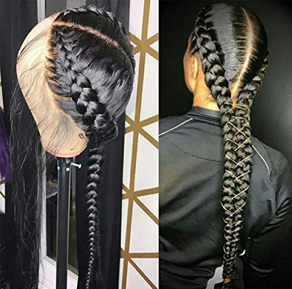 接続された深遠理論女性かつらストレートヘアレース前頭ブラジルバージン人間の髪の毛のかつら人間の髪の毛150%密度