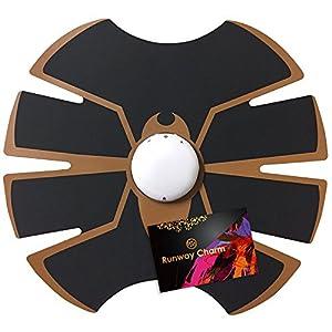 多機能 EMS トレーニングパッド RunwayCharm オリジナルステッカー付 [腹筋 器具 筋トレ 腹筋ダイエット ウエストダイエット お腹ダイエット 女性 男性 強さ10段階調節 4モード 自動オフ 腹筋 ダイエット 腹筋マシン ]