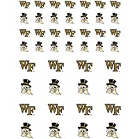 MGF Wake Forest Demon Deacons 小型ステッカーシート 2枚