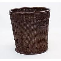 5010-DBR 高品質 鉢カバー 籐 バスケット インテリア デザインカバー カバー