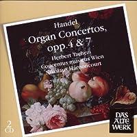 Organ Concertos Op.4 & Op.7 by Herbert Tachezi (2009-06-01)