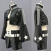CXCOS AL0862 ブラック★ロックシューター 黒衣マト 風 初音ミク コスプレ衣装