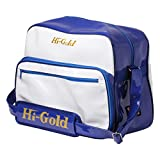 HI-GOLD(ハイゴールド) ショルダー バッグ レギュラーサイズ HB-9000 ホワイト×ロイヤル