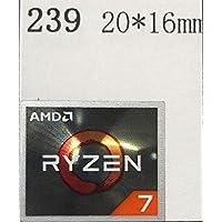 ■【AMD RYZEN 7】エンブレムシール 20*16mm