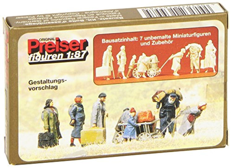 Preiser 16558難民未塗装