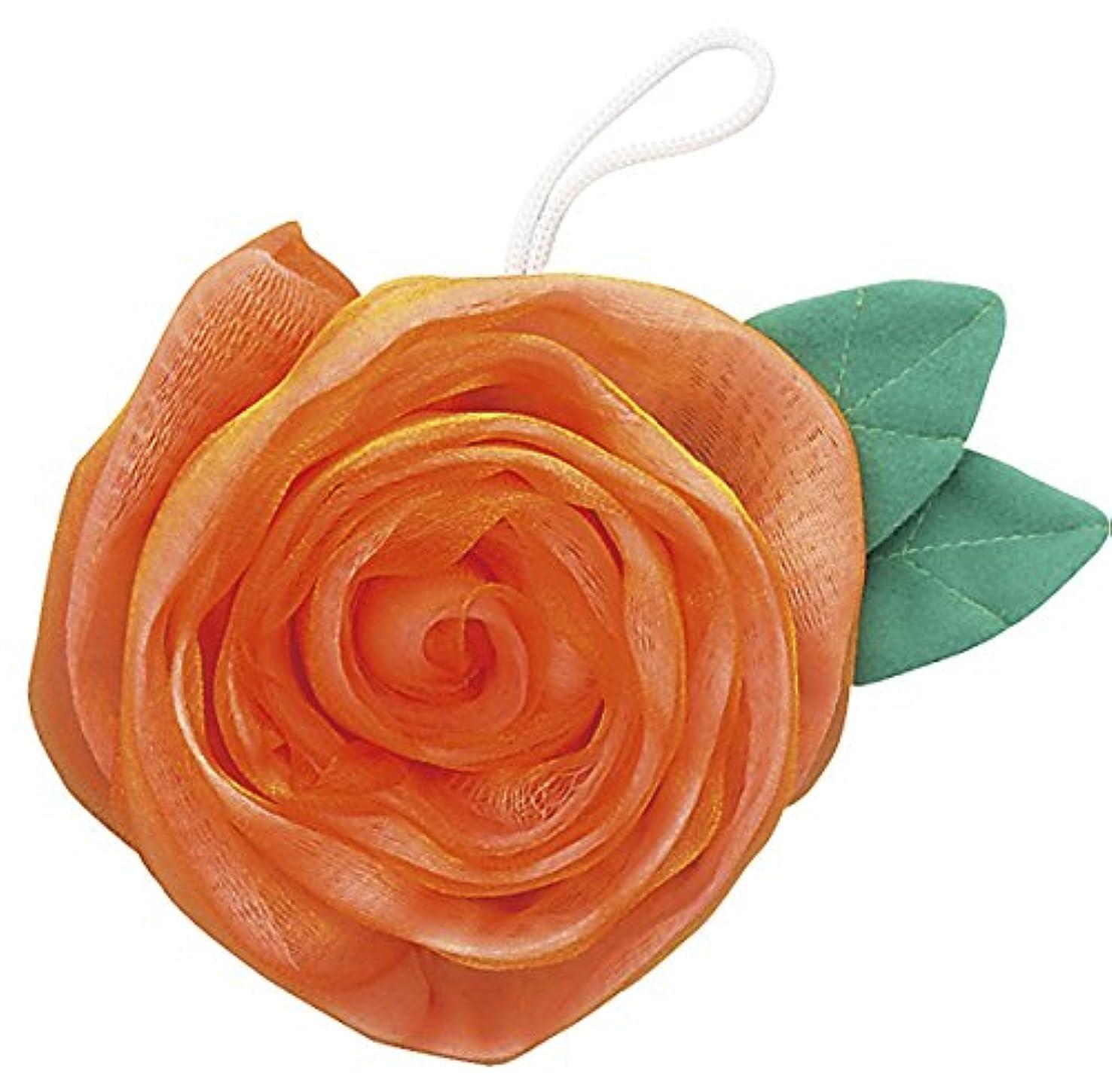 痛い委託ランタンフジインターナショナル エレガントローズ 薔薇のボディスポンジ ゴールド BS-G