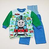 きかんしゃトーマス 腹巻つき長袖パジャマ 80-95cm (T7105) (90cm)