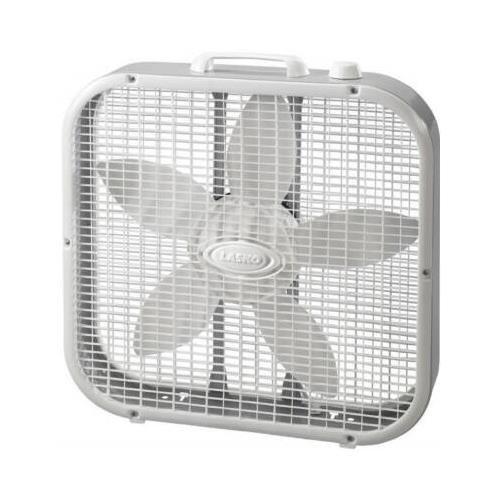 【LASKO】 ラスコ ボックスファン [ホワイト] BOX FAN 《3733》(サーキュレーター/扇風機)