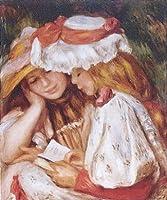 ルノワール 読書する二人の少女 12号 額タイプE