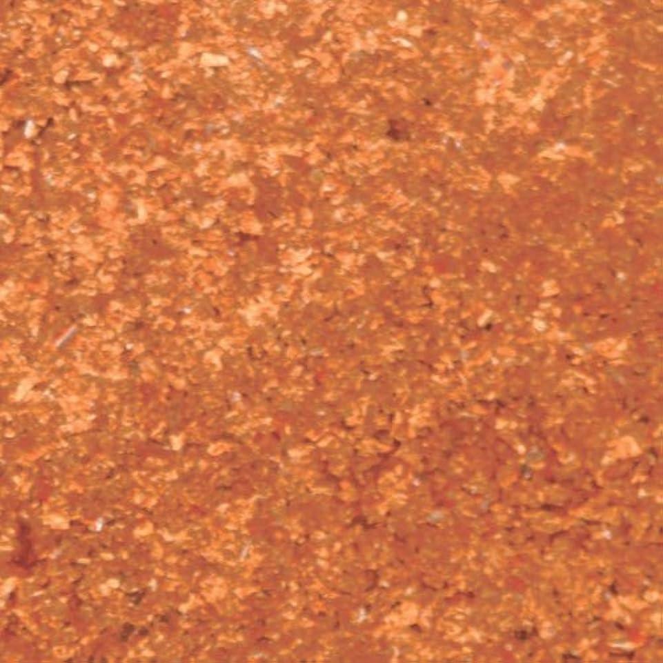 誤って取り除く食堂ピカエース ネイル用パウダー シャインフレーク #706 柿色 0.3g