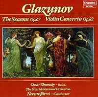 Seasons / Violin Concerto in a by A. Glazunov (2013-05-03)