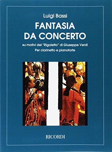 ヴェルディ : リゴレット・ファンタジー (クラリネット、ピアノ) リコルディ出版