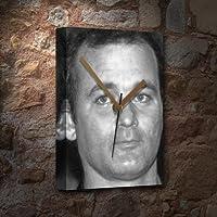BILL MURRAY - キャンバス時計(LARGE A3 - アーティストによる署名入り) #js001