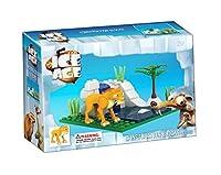 Brictek Children's Ice Age Diego Interlocking Building Brick Toy (57 Piece) [並行輸入品]