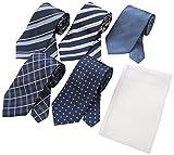 (フローレンスペック)FLORENCEPEC(フローレンスペック) FLORENCEPEC ウォッシャブルネクタイ5本セット 洗濯ネット付き J5P000001 002 A-2 Free